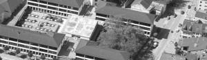 Photo: vue aérienne du Collège de St-Maurice