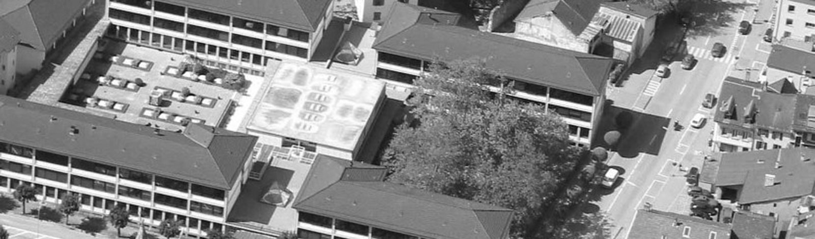 Photo aérienne du Collège de St-Maurice